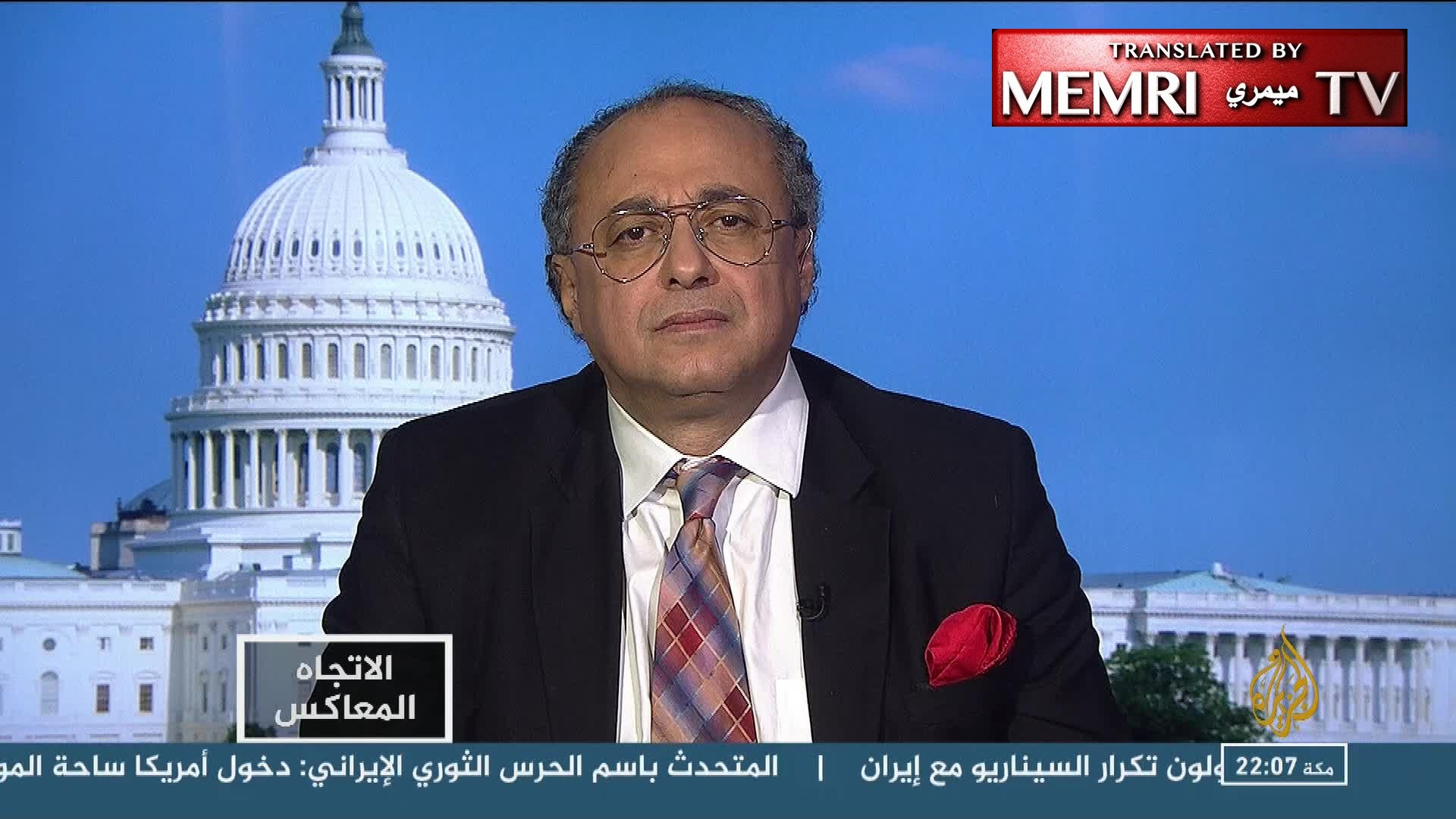 U.S.-Based Policy Researcher Dr. Tawfik Hamid: Muslim Brotherhood's Terrorist Designation Would Benefit Muslims